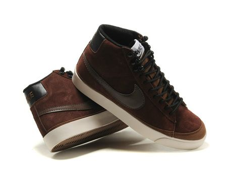 Nike Blazer Mid Vintage Suede Brown Chocolate