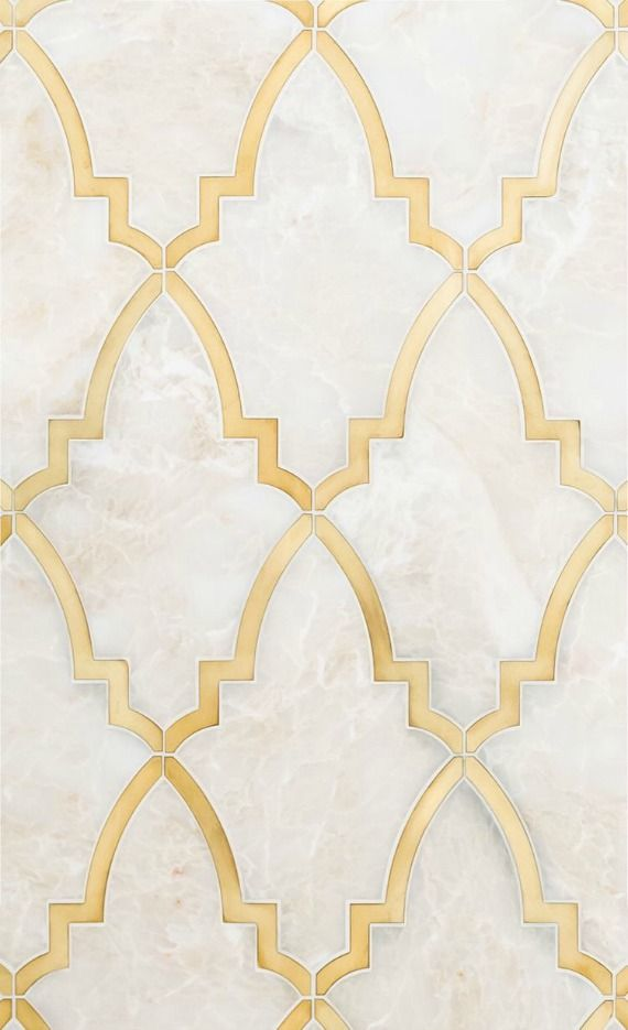 10 looks to love gold grout insets