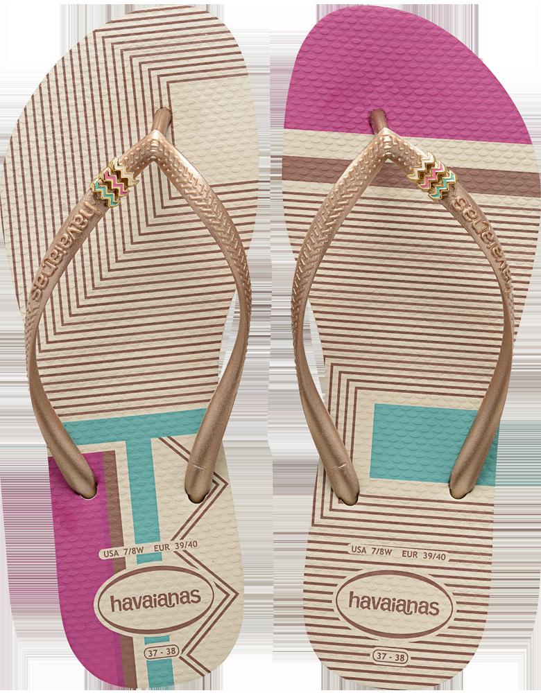 Havaianas Flip Flops - Tribal