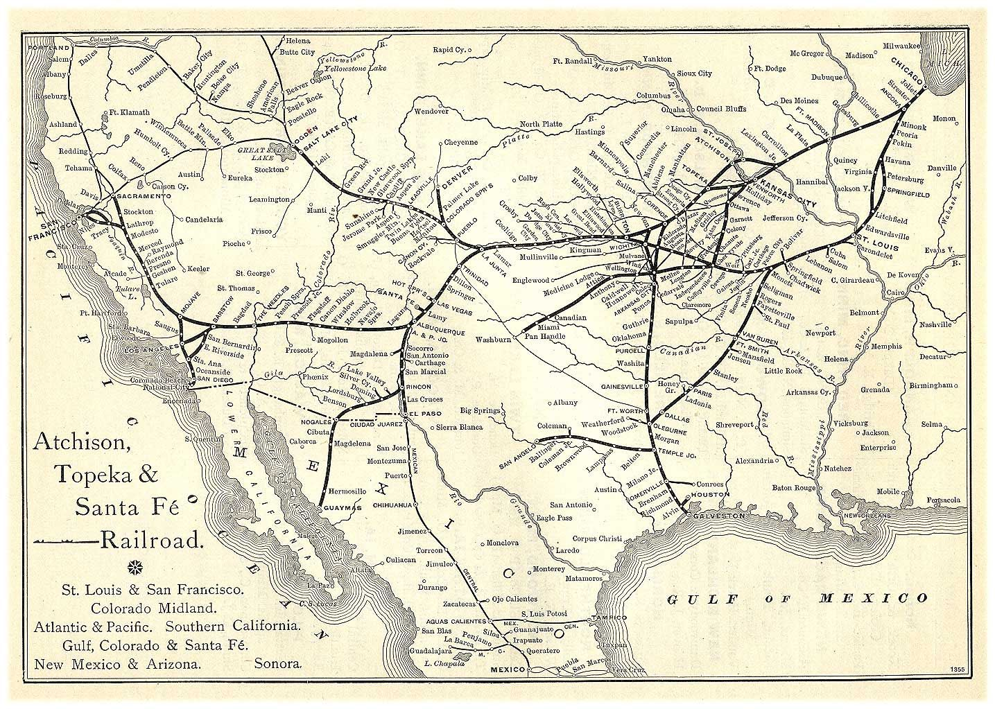 ATSF well before it was merged into the BNSF | Historical