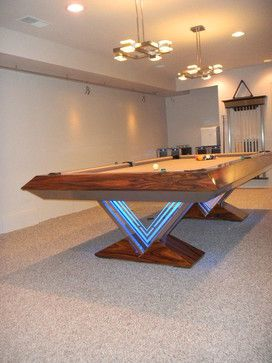 VUE Pool Table By MITCHELL * Exclusive Billiard Designs *   Eclectic    Basement   Richmond