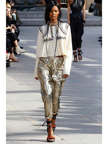 Paris Fashion Week Spring 2016 - Isabel Marant | allure.com