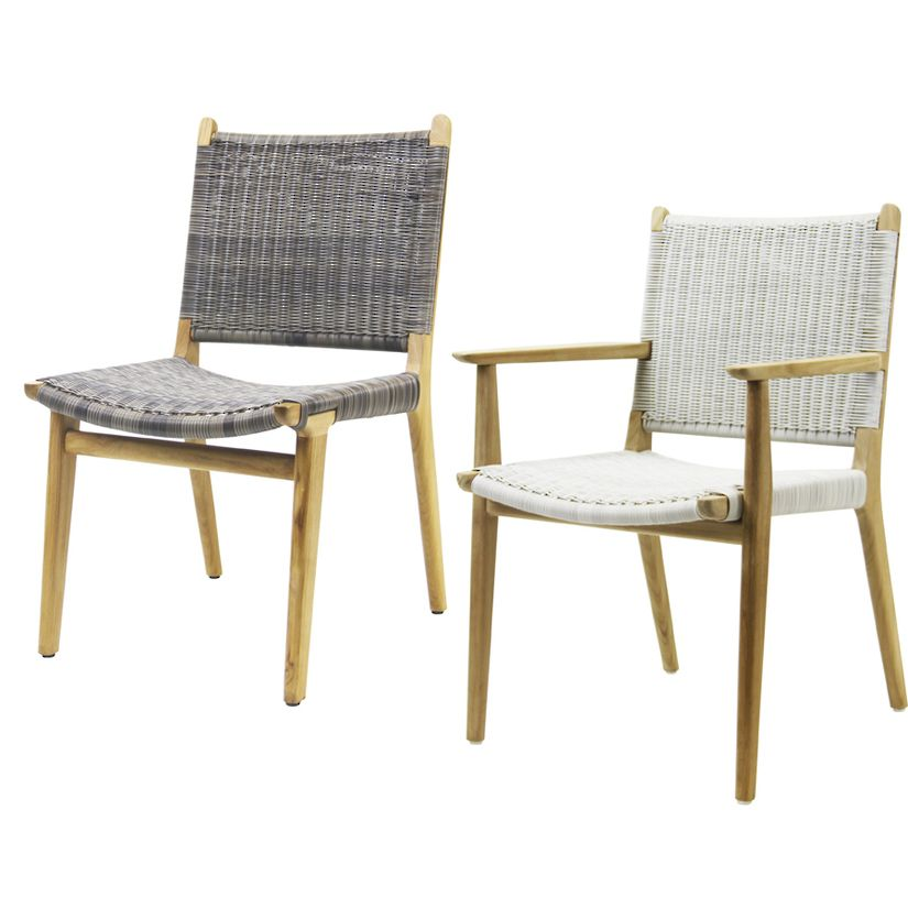 Eco Chic Indoor Outdoor Furniture l Roxanna Outdoor Dining