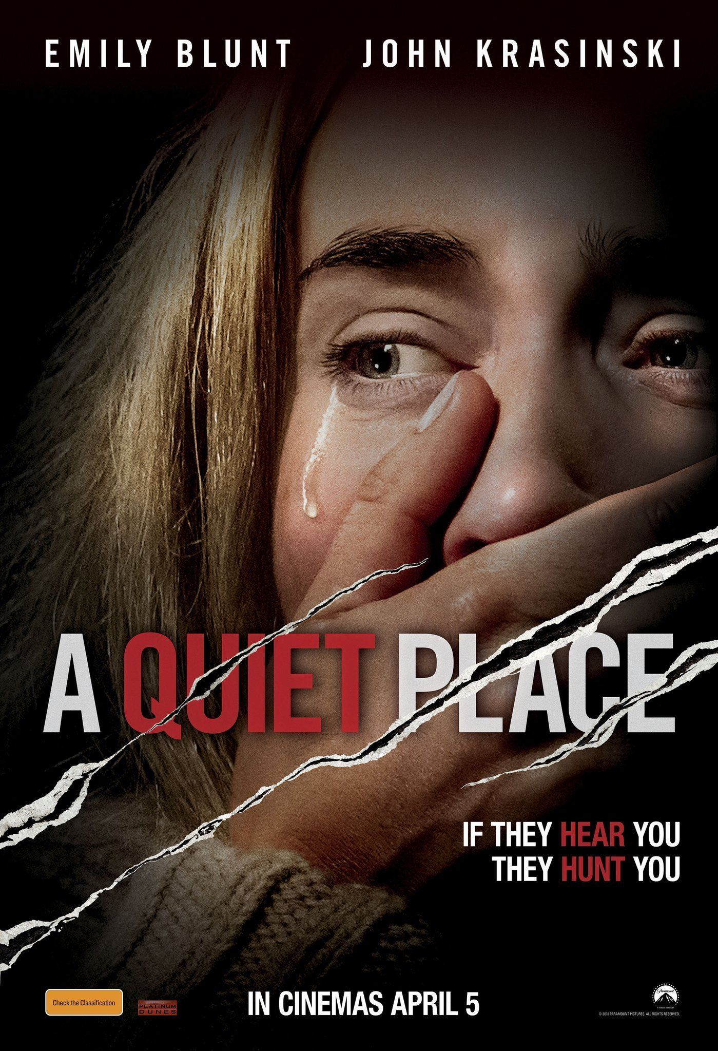 A Quiet Place (2018) {Hindi-English} 480p | 720p