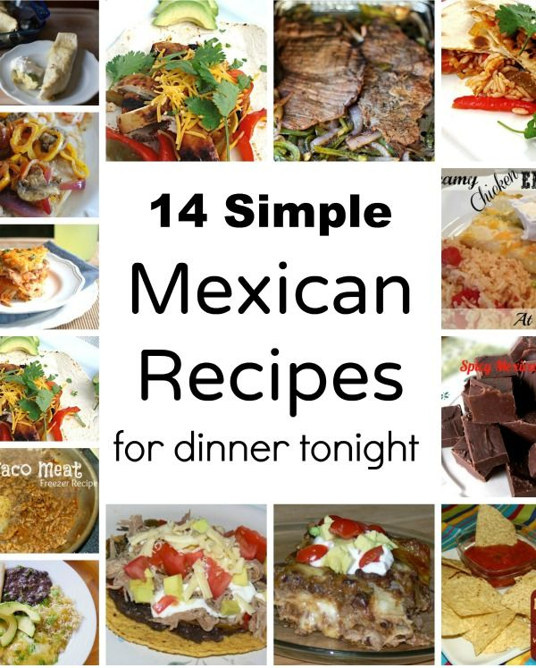 14 easy mexican recipes for a quick dinner httpallshecooks 14 easy mexican recipes for a quick dinner httpallshecooks forumfinder Choice Image