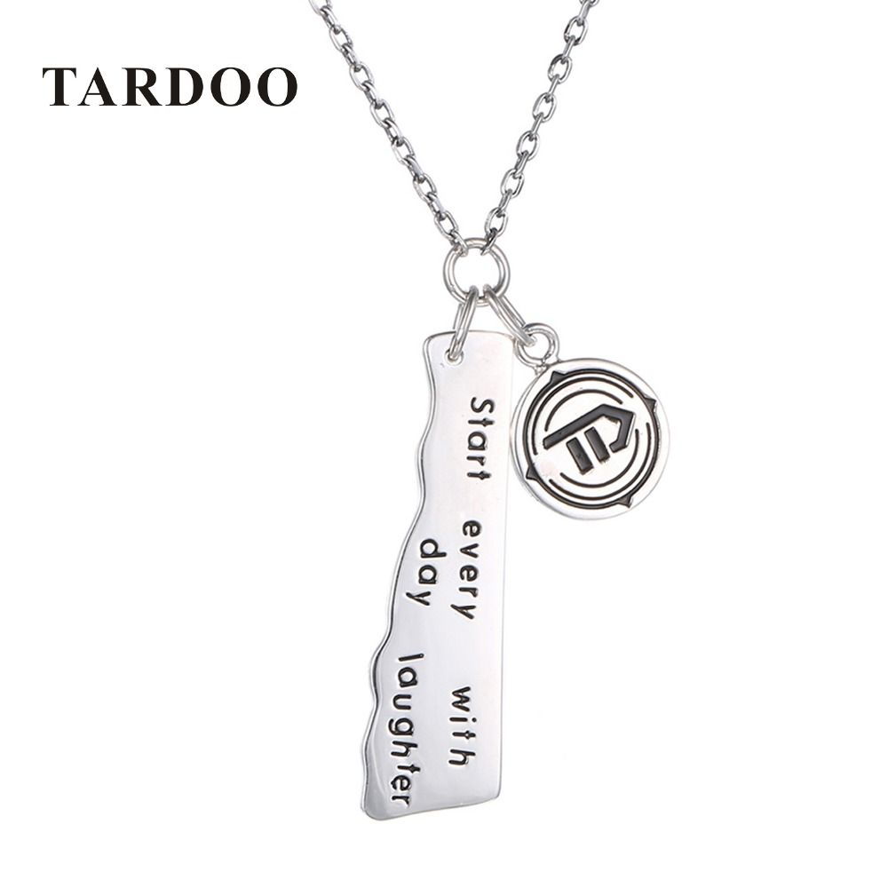 Tardoo authentic sterling silver necklace for women high quality