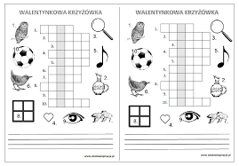 Znalezione Obrazy Dla Zapytania Wiosna Krzyzowki Dla Dzieci Crossword Puzzle Diagram