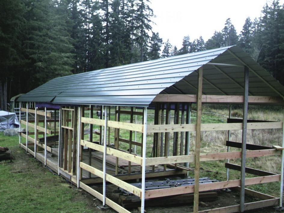 FARM SHOW Carports Turned Into Low Cost Barn Carport