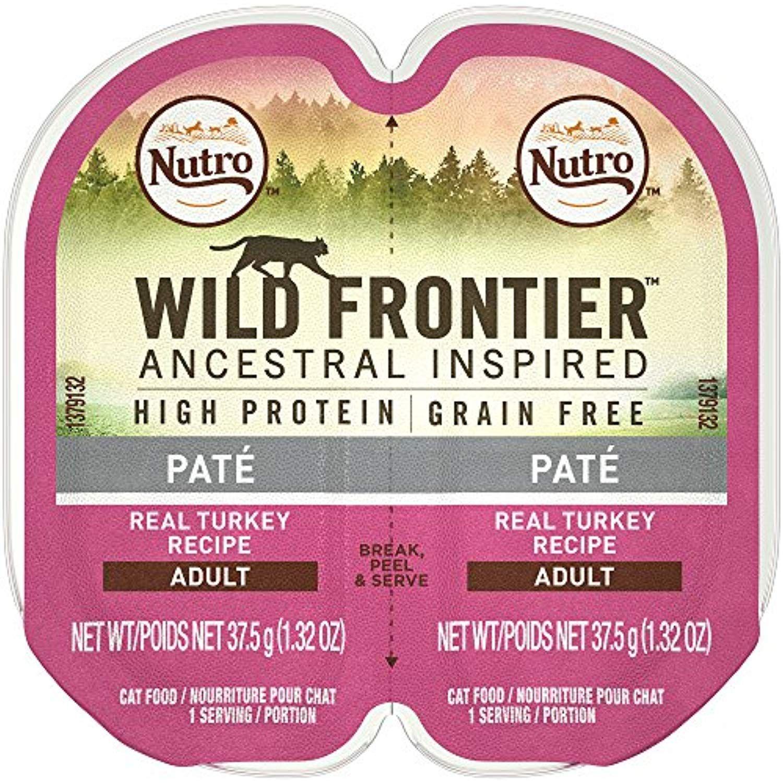 Nutro Wild Frontier High Protein Grain Free Pate Wet Cat Food