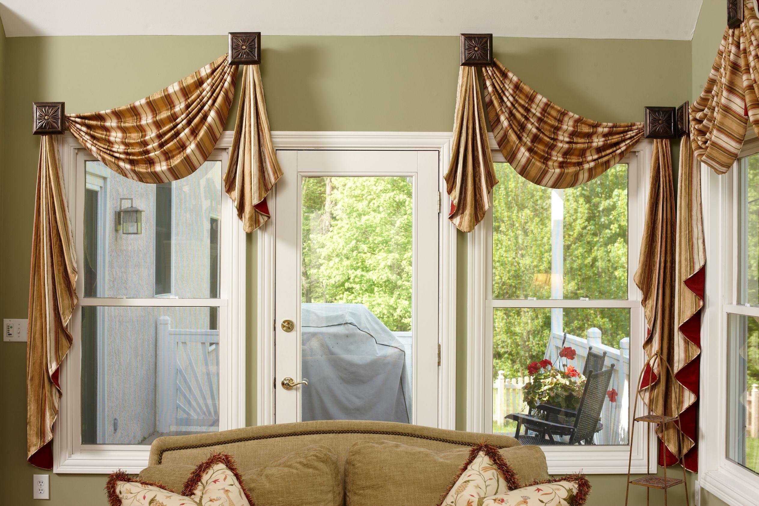 Sunroom Window Treatments Around A