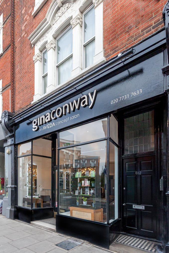 Outside View Of The Fulham Salon Ginaconway Aveda Salon Spa
