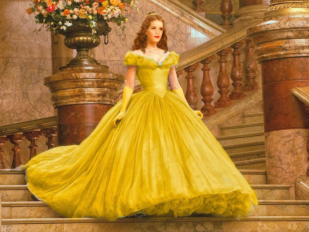 Emma Watsons Iconic Yellow Beauty And The Beast Dress Kind