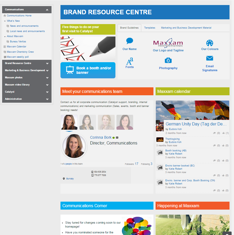 booth intranet 12 intranet best practice ingredients to ignite your internal ...
