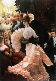 That dress. I can see myself in that dress.  James Tussot