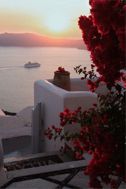 wonderous-world:  Santorini, Greece by O-Gosh