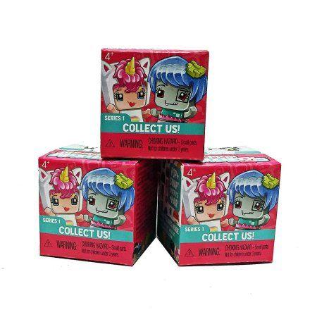 My Mini MixieQ s Mystery Box 2 pack box Series 1 Three Mini