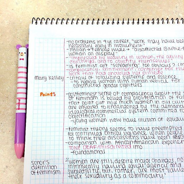 Took Some Notes On A Reading This Morning IM Trying Cornell Note