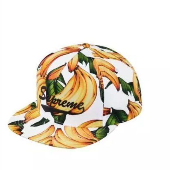 SUPREME banana 5-panel snapback hat SUPREME banana 5-panel snapback hat Supreme Accessories Hats