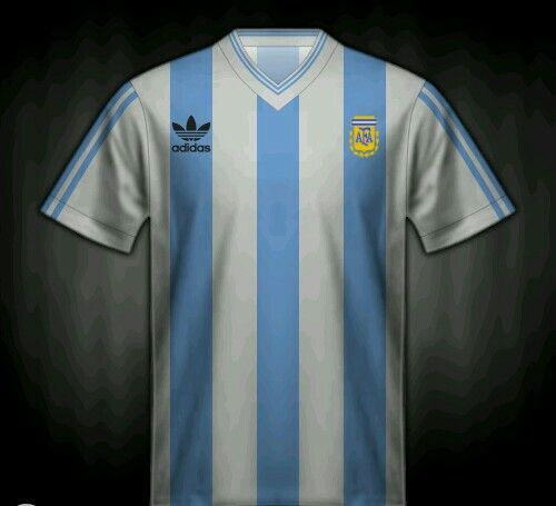 9a59cfb10 Argentina home shirt for the 1990 World Cup Finals.