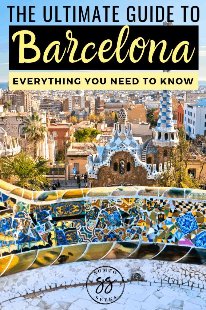 Planning a trip to Barcelona, Spain? Here's the ultimate guide to Barcelona that breaks down everything you need to know, from the best food, the top things to do, and all the places to visit. Read on to discover the best  travel tips to plan the perfect Barcelona itinerary #barcelona #barcelonatravelguide #spaintravel #traveltips