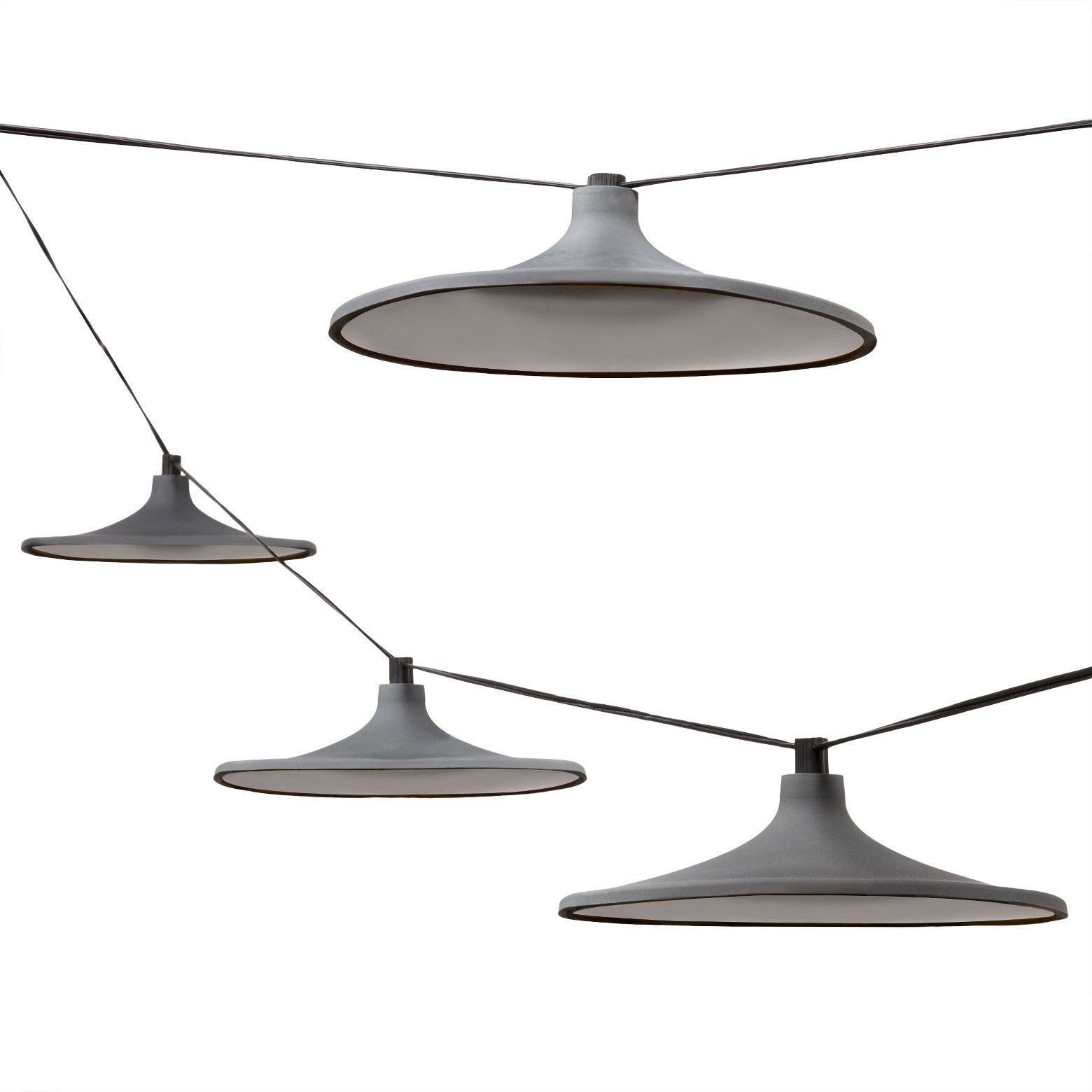 Bull Soft Silicone Brbull Modern Silhouettebrbull Black Wiring A Light String Lights Gray By Dwell Magazine Target