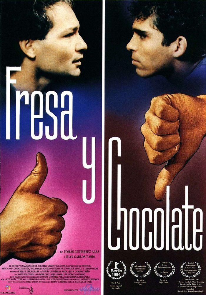 Strawberry And Chocolate Tomas Gutierrez Alea Juan Carlos Tabio