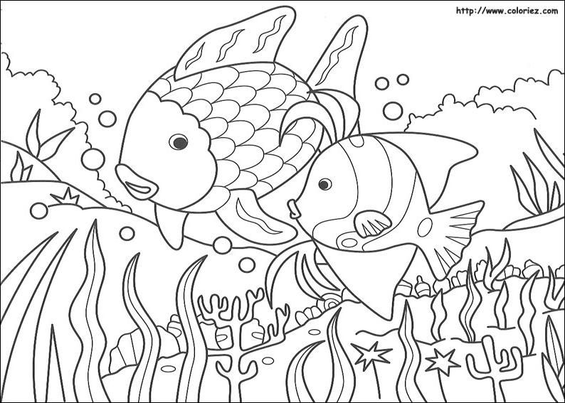 Créer Un Album De Coloriage Arc En Ciel Coloring Fun Fish