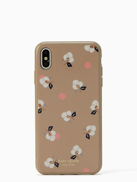 309b2ddced Kate Spade Breezy Floral Ditsy Iphone Xs Max Case, Neutral ...
