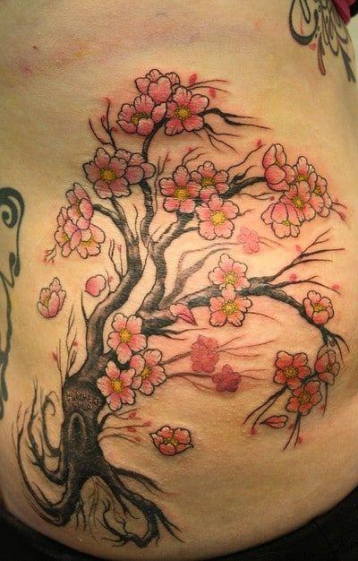 Cherry Blossom Blossom Tree Tattoo Cherry Blossom Tree Tattoo Cherry Blossom Tattoo