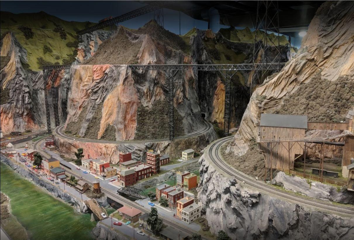 Northlandz World Largest Miniature Wonderland Beautiful Views Model Train Sets Wonderland