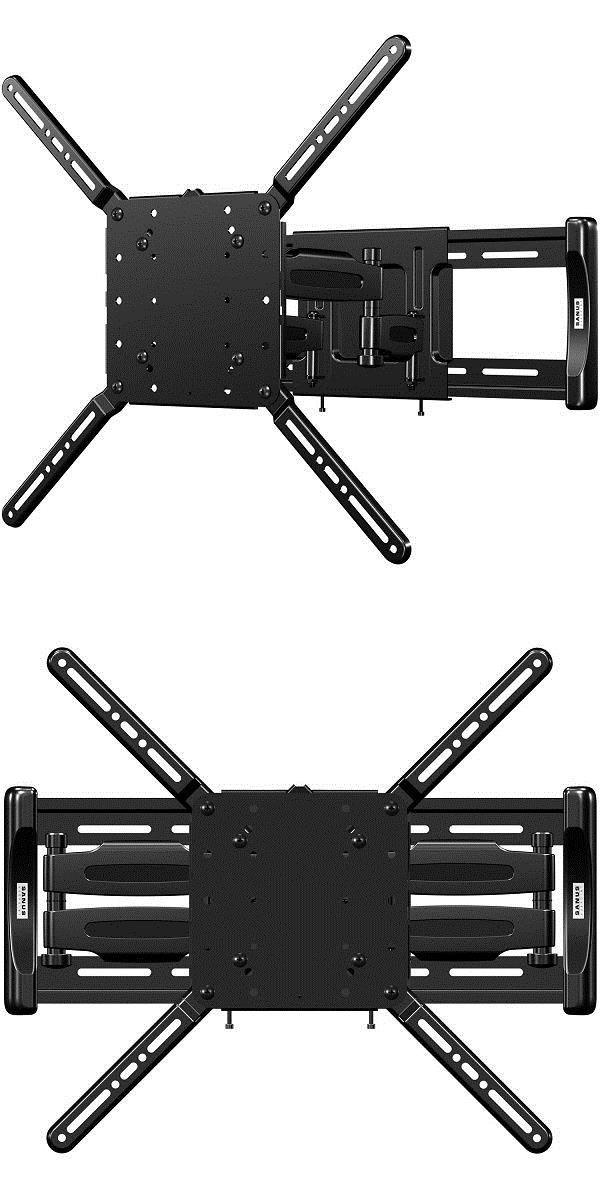 tv mounts and brackets sanus flf118 vuepoint full motion tv wall mount for 47 - Sanus Full Motion Tv Wandhalterung