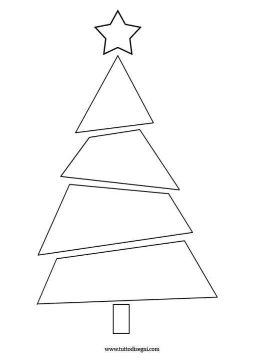 Albero Di Natale Stilizzato.Albero Natale Stilizzato Alberi Di Natale Artigianato Decorazioni Natalizie Natale