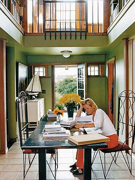 Combination Dining Room Library