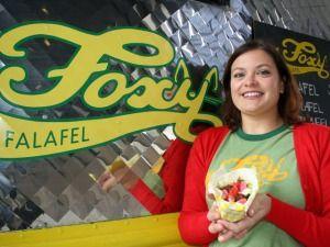 Foxy Falafel's Erica Strait #StarTribune