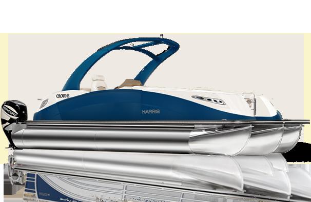 Crowne Series Pontoon Boat