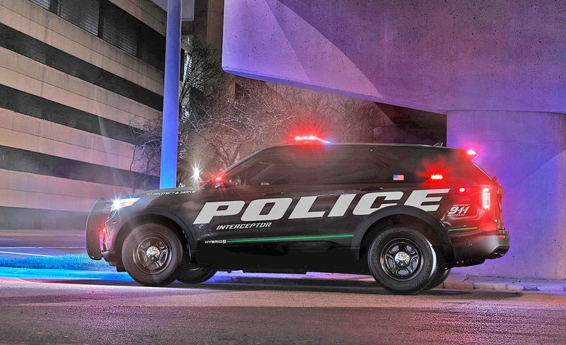 This Is The New 2020 Ford Explorer In Cop Car Form Ford Explorer