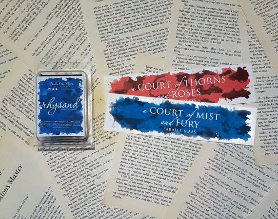 A Court Of Thorns And Roses Trilogy Thin By Behindthepages On Etsy