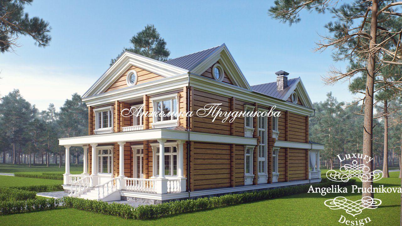 Дизайн экстерьера дома из кедра | Дома из кедра, Дом и ...