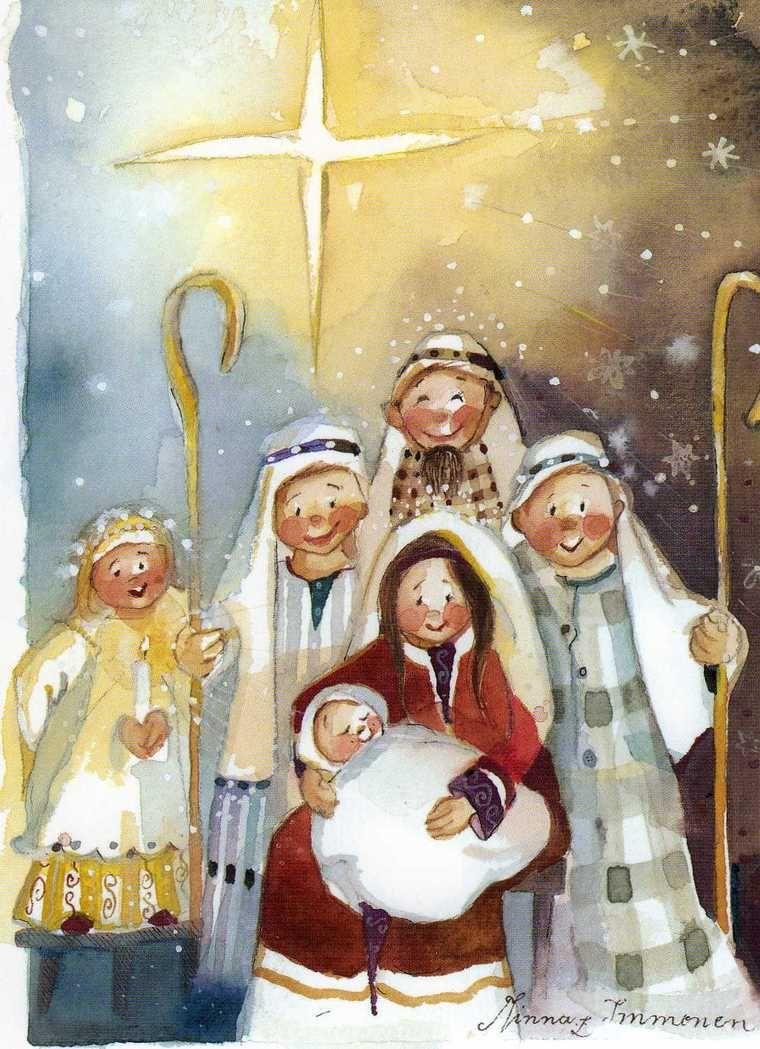 Праздником михаила, рождественские рисунки картинки