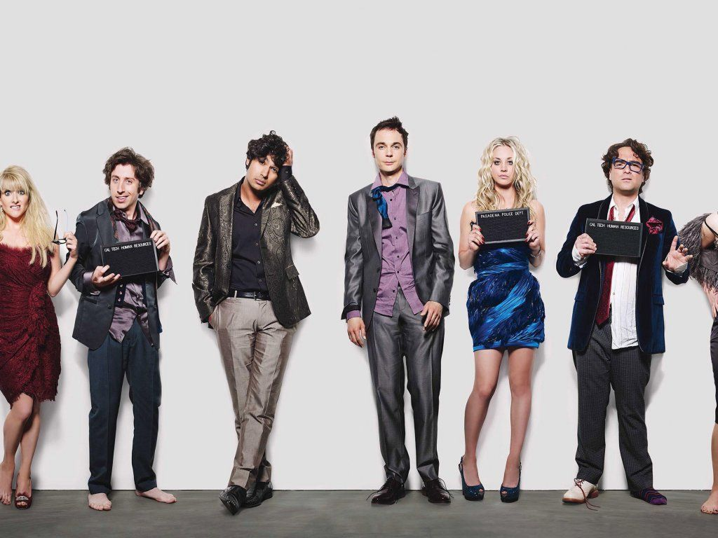 The Big Bang Theory Tv Show Cast 2018 Wallpaper Celebrity