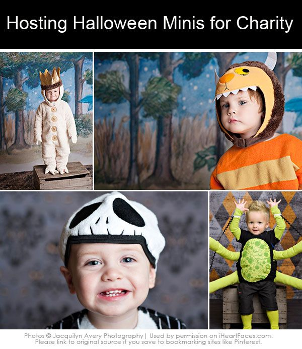 3 Tips for Hosting Successful Halloween Mini Sessions for Charity. #halloween #photography