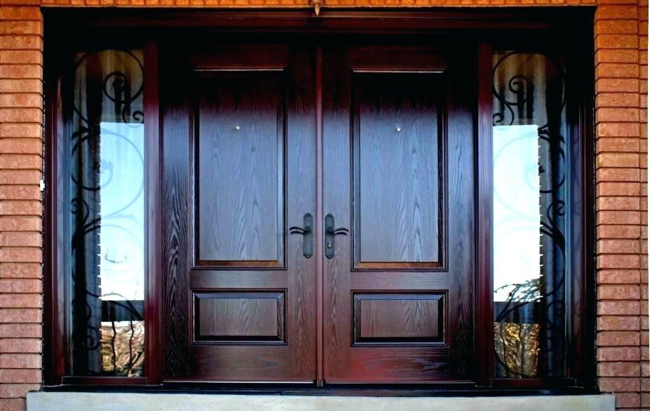 Exterior Doors Lowes Front Door Installation Double Front Doors With