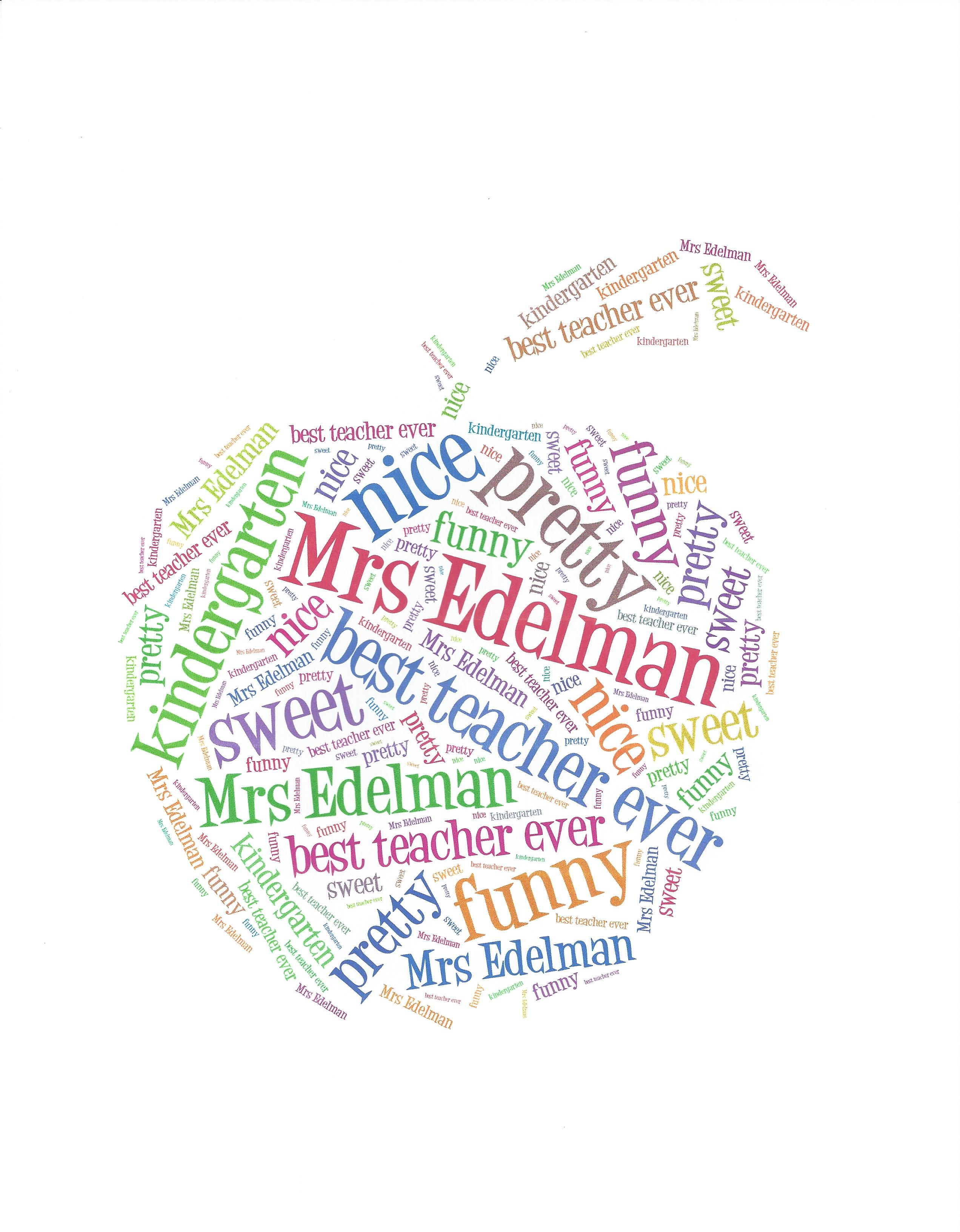 Our teachers loved this personalized mouse pad made on tagxedo our teachers loved this personalized mouse pad made on tagxedo publicscrutiny Choice Image