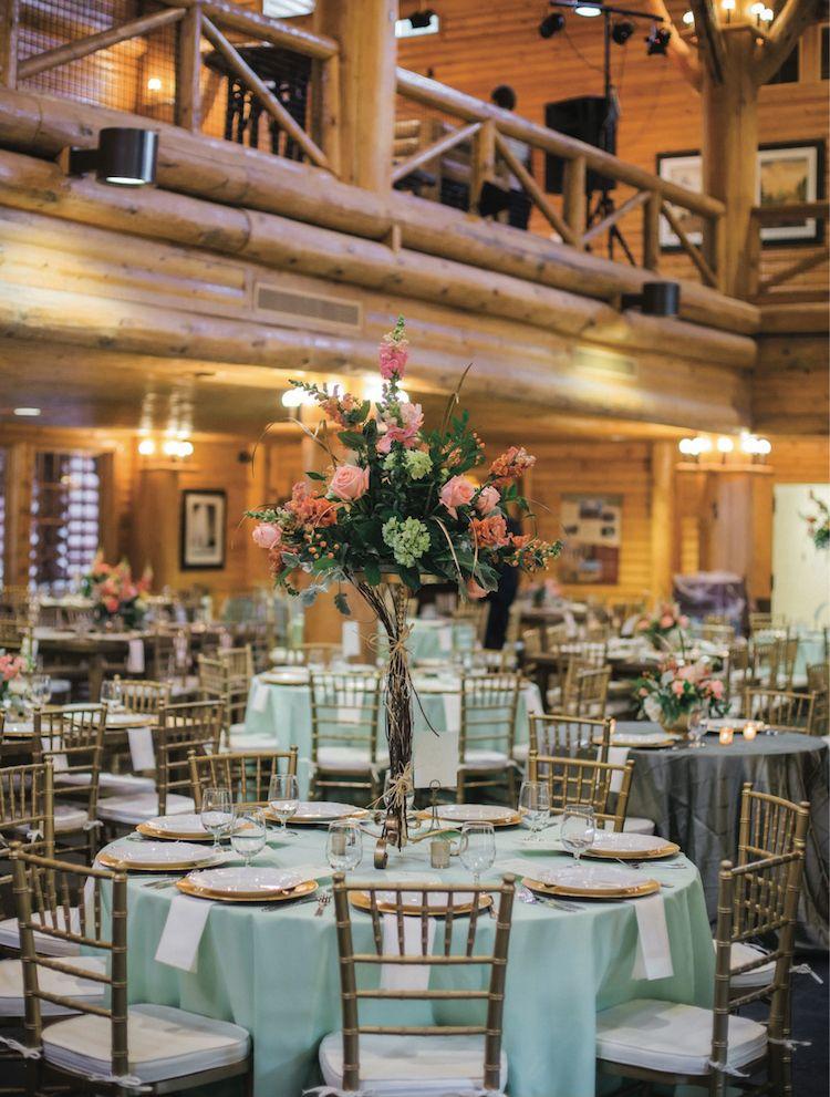 Summery Lodge Wedding Memphis zoo, Lodge wedding