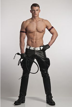 from Deshawn gay leather man picture