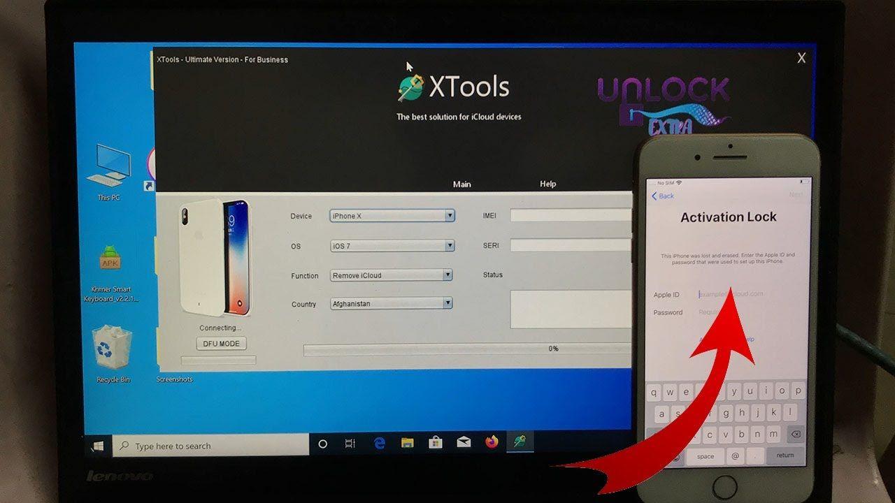 Icloud Unlock Apple Id Bypass Xtools Pro Version 100 Working Update 2020