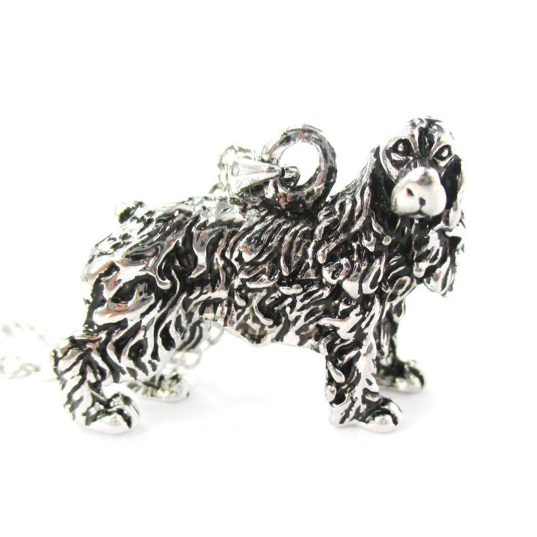 3d Realistic English Cocker Spaniel Animal Dog Breed Charm