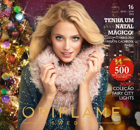 Catálogo 16 de 2013 da Oriflame