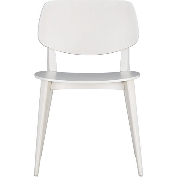 Scoop Side Chair in Dining Chairs | Crate and Barrel - for kitchen nook