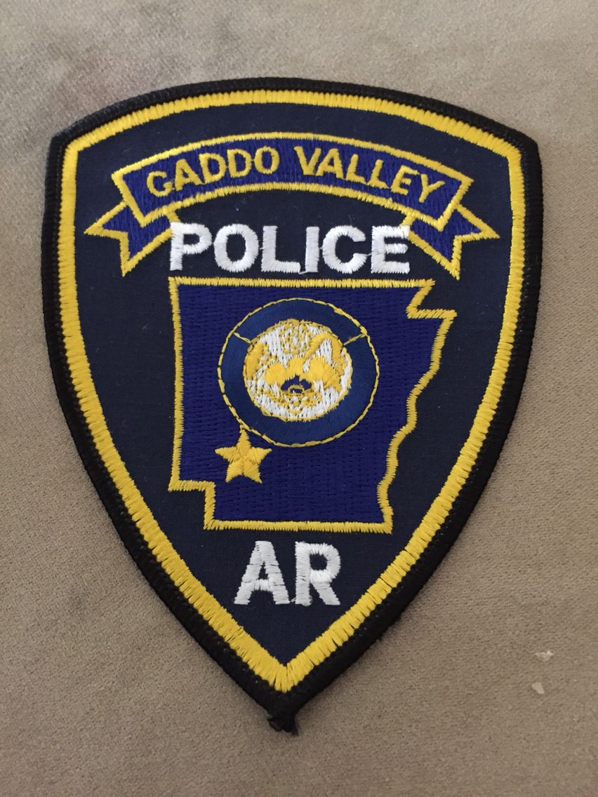 Caddo Valley Pd Police Patches Police Police Department